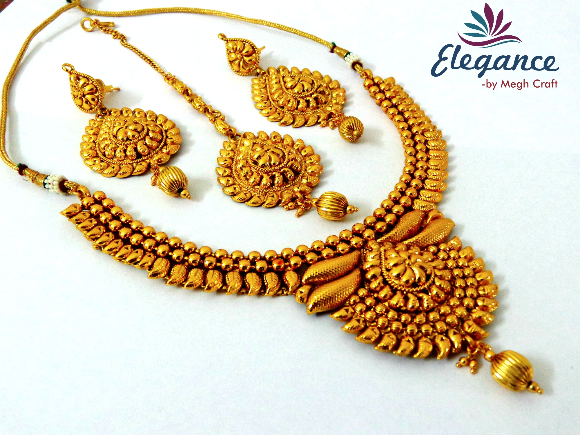 Buy South Indian Temple One Gram Gold Plated Jewelry