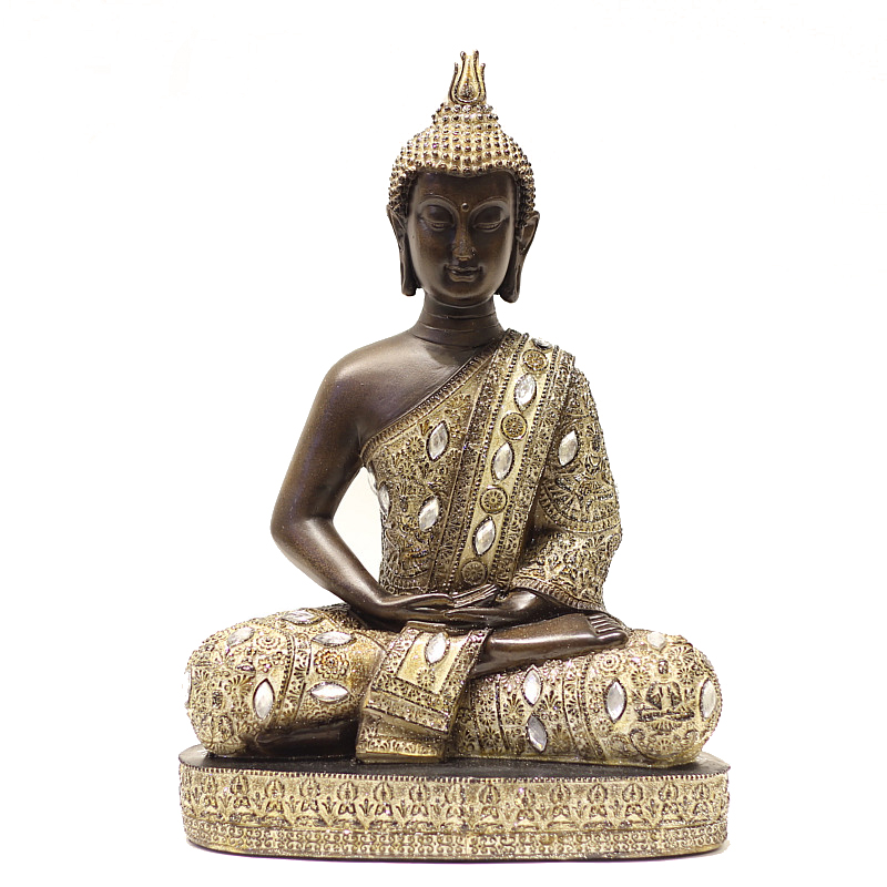 Buy home decor lord buddha in meditation vastu good luck for Good luck home decor