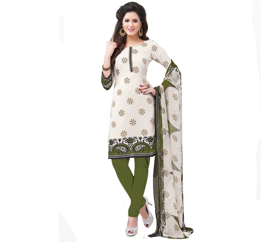 Stylish New Design Salwar Suit Crepe Material Clothing Universal Creations