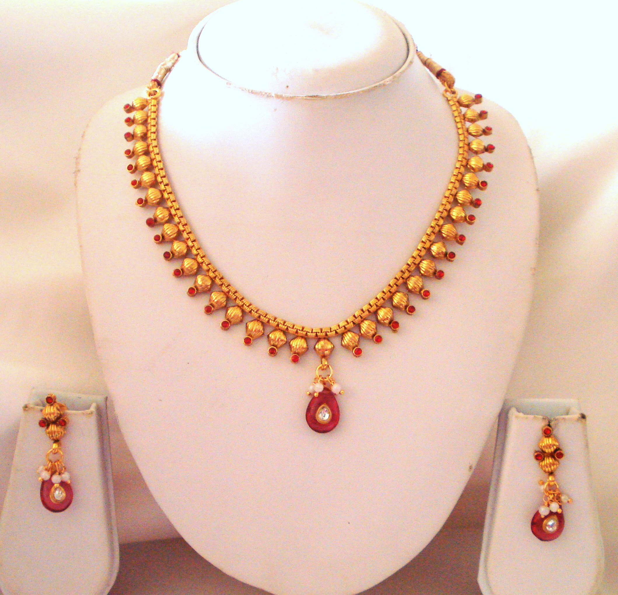 Inspirational Simple Gold Necklace Sets | Jewellry\'s Website