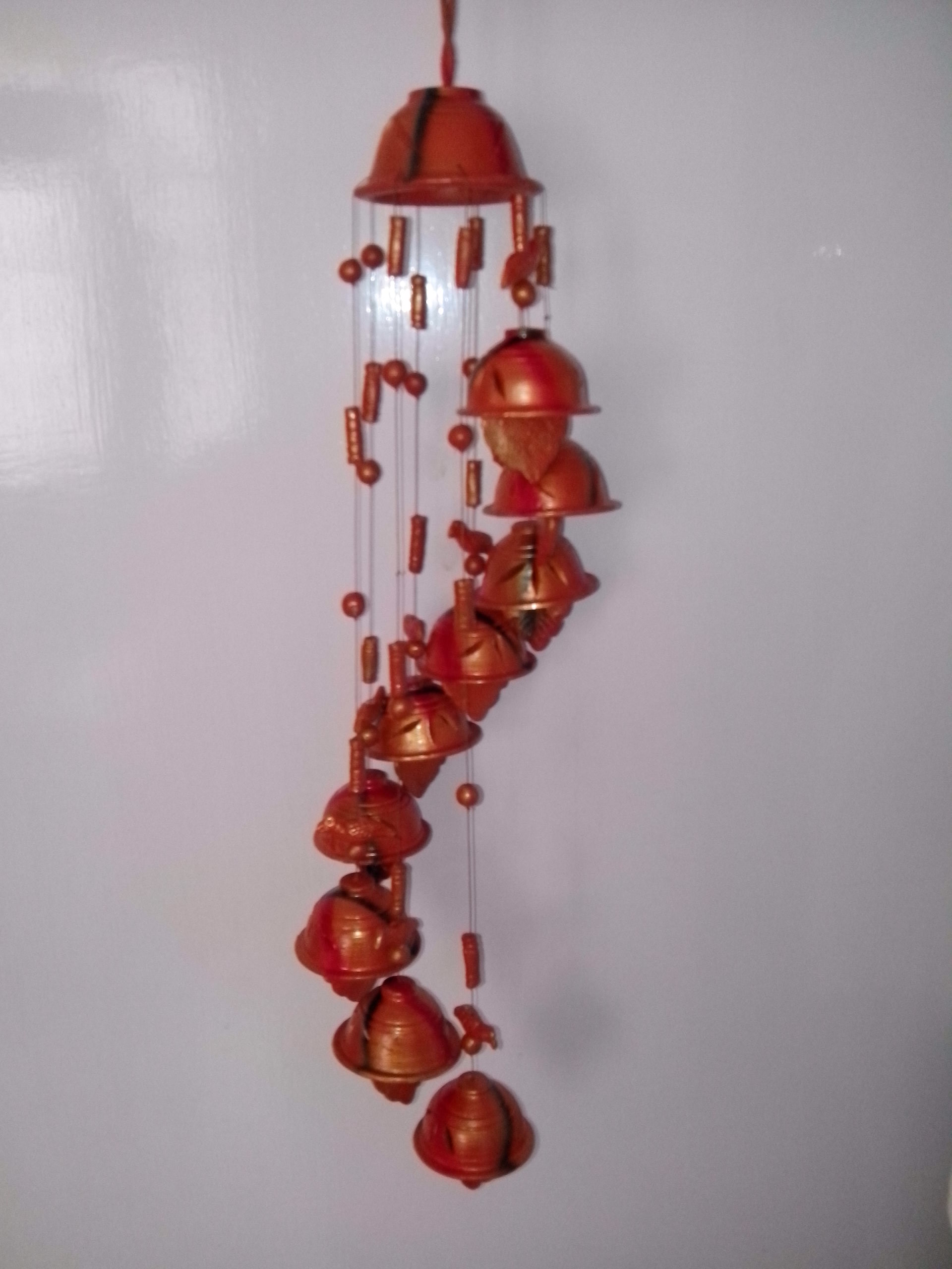 Rangamaati handicrafts pvt ltd for Terracotta wind chimes