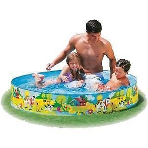 Intex Circular Swimming Baby Pool 4 Ft Kids Apiconline