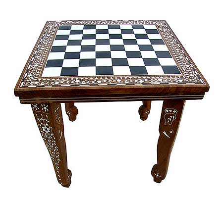 Square octogonal table with 4 elephant legs 12 inch by 12 for 12 inch square table
