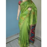 Pure Jute Tussar Saree