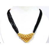 Golden Ball Pendant Mangalsutra Necklace