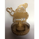 Christmas Decorations - Santa Shaped Candle / T Light Holder