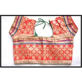 Free Surprise Gift Inside!! Multicolour Blouse With Embroidered Traditional Yet Contemporary Goes Will All Sarees