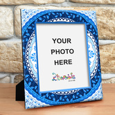Kolorobia Turkish Blue Photo Frame Large