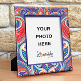 Paisley Photo Frame Medium
