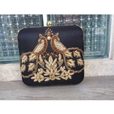 Pearky Peacock Clutch