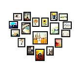Swadesistuff Photo Frame Collage For Wall Decor (set Of 18)
