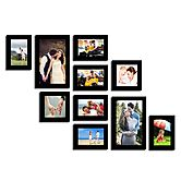 Swadesistuff Photo Frame Collage For Wall Decor (set Of 10)