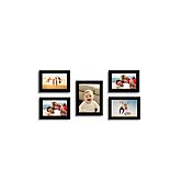 Swadesistuff Photo Frame Collage For Wall Decor (set Of 5)