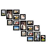 Swadesistuff Photo Frame Collage For Wall Decor (set Of 17)