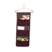 Kuber Industries Wall Hanging Organiser, Dressing Hanging Organiser, Make Up Hanging Organiser (imported Material With Hanger)