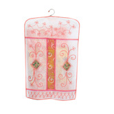 Kuber Industries Hanging Saree Cover In Non Woven Material Set Of 12 Pcs (embroidry Work)