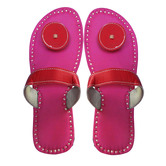 Kuhuk Kolhapuri Chappals For Women