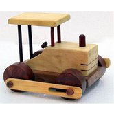 Desi Karigar Wooden Toy Road Roller ( Yellow, 6.5 X 6 X 4 )