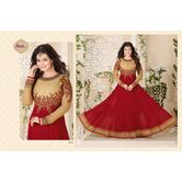 Bridal Collection Presents Ashtha (avon) Red Heavy Lace Anarkali