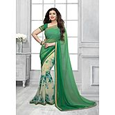 New Green Georgette ...