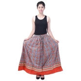 Sunshine Ecommerce  Beautiful Multicolor Designer Skirt - 804