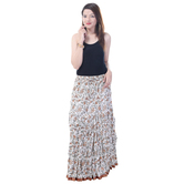 Sunshine Ecommerce  Collections Soild Women\'s Regular Multicolor Skirt - 809