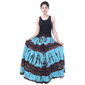 Sunshine Ecommerce  Collections Tye N Dye Print Women\'s Multicolour  Long Skirt - 820
