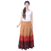Sunshine Ecommerce  Collections Tye N Dye Print Women\'s Multicolour  Long Skirt - 821