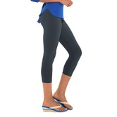 Go Colors-silver Grey-ladies 3/4 Leggings