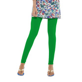 Go Colors-leaf Green - Ladies Churidar