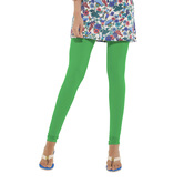 Go Colors-parrot Green - Ladies Churidar