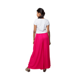 Go Colors-light Fuxia-flared Palazzo