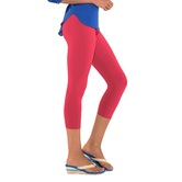 Go Colors-young Fuchsia-ladies 3/4 Leggings