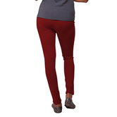 Go Colors-young Red-super Stretch Jeggings