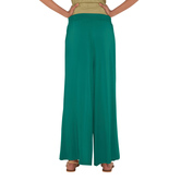 Go Colors-peacock Green-tall Palazzo