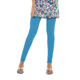 Go Colors-bright Turquoise - Ladies Churidar