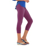 Go Colors-purple-ladies 3/4 Leggings