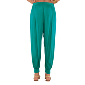 Go Colors- Peacockgreen-harem Pant