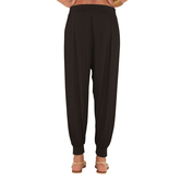 Go Colors-black-harem Pant
