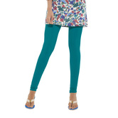 Go Colors-peacock Blue - Ladies Churidar