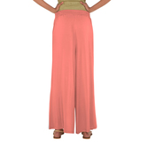 Go Colors- Light Coral Tall Palazzo