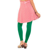 Go Colors -  Emerald Green Leggings