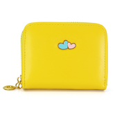 Lilu Jewels Women Stylish Yellow Color Wallet Clutch Ladies Purse Birthday Gift