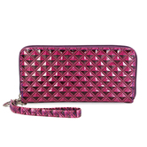 Lilu Jewels Women Stylish Pink Color Clutch For Girls
