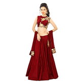 New Red Lehenga Chol...