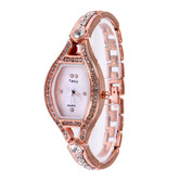 Wonder Squre  Design Metal Fancy Strap Womens Quartz Watch For Woman