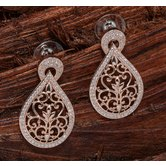 Alankruthi Rose Gold Fashion Earrings