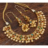 Alankruthi Traditional Temple Necklace Set