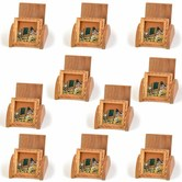 Wholesale Lot Of 10 Handcrafted Gemstone Painting Wooden Mobile Stands