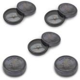 Wholesale Lot Of 5 Designer Stylish Boy Scout Pure Brass Direction Compasses